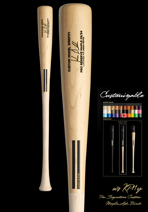Kevin Pillar WSKP11Y YOUTH CUSTOMIZABLE PRO SIGNATURE WOOD BAT