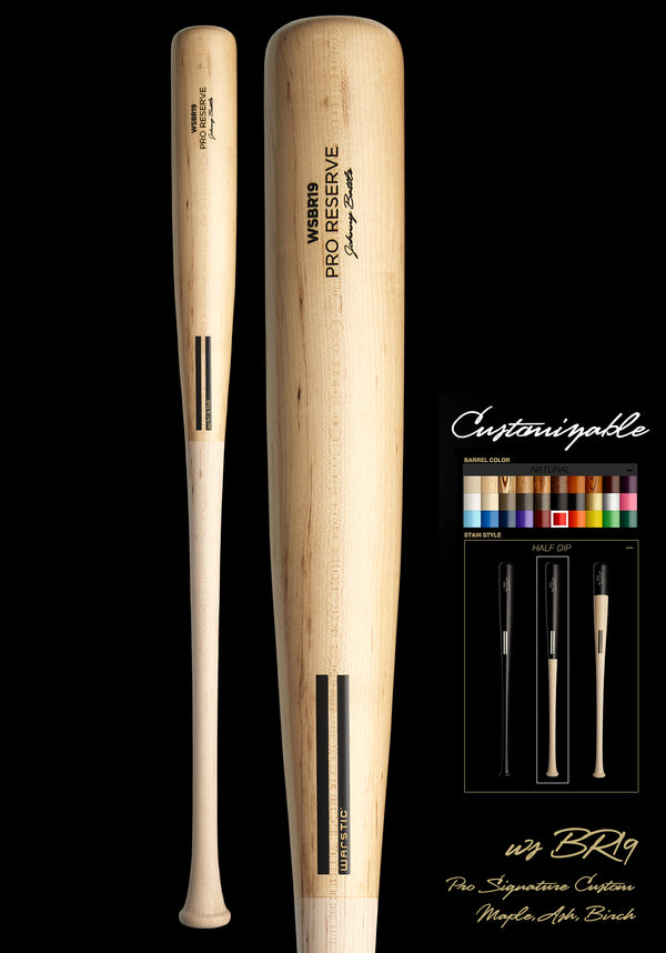 WSBR19 (BRENT ROOKER MODEL) WOOD BAT