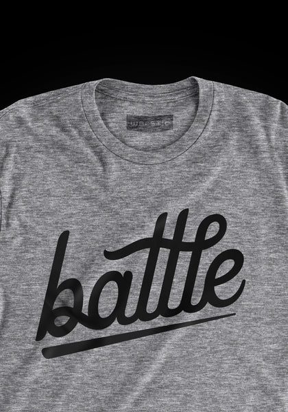 Battle Tee Gray (Youth), [prouduct_type], [Warstic]