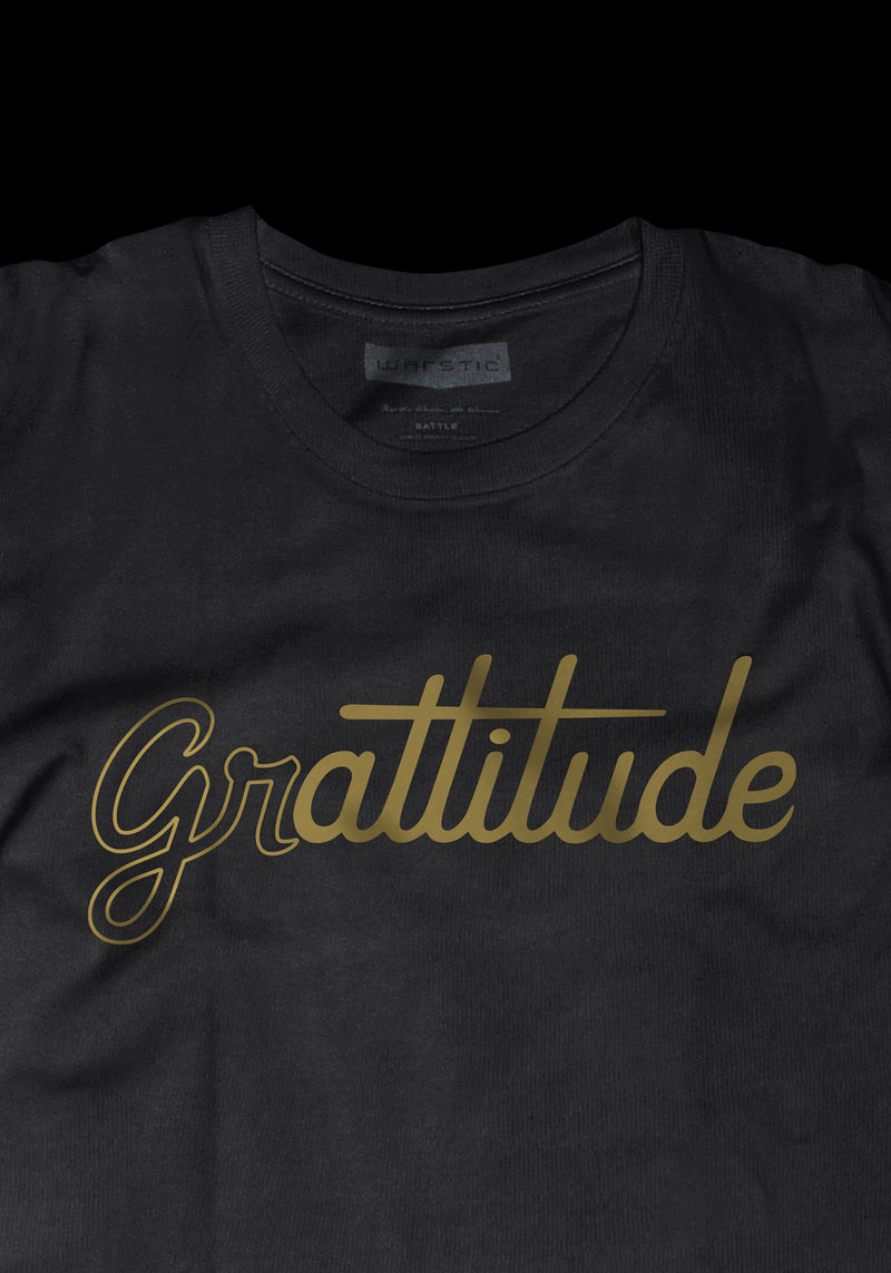 GRATTITUDE YOUTH (BLACK/GOLD), [prouduct_type], [Warstic]