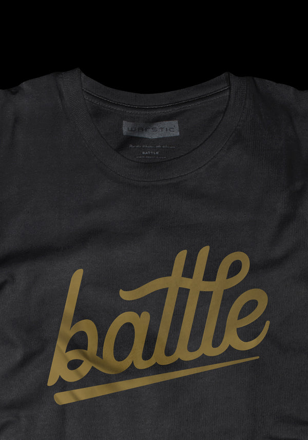 BATTLE TEE (BLACK), [prouduct_type], [Warstic]