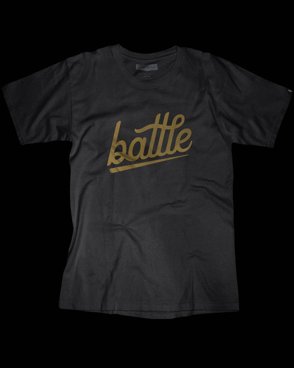 BATTLE TEE (BLACK)