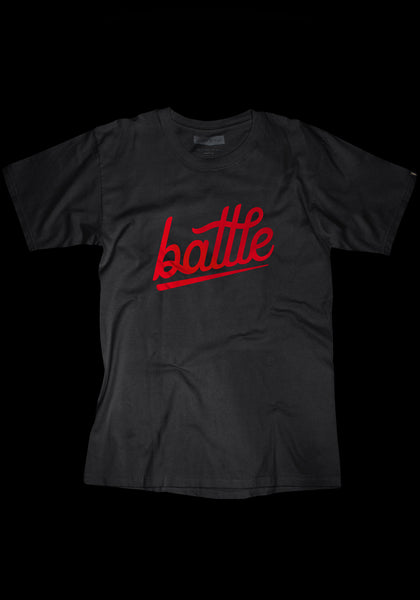 Warstic Battle Tee (Black / Red)