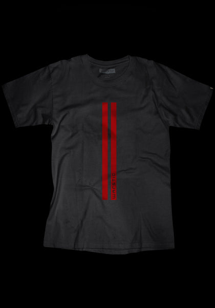 Warstripes Tee (Black/Red)