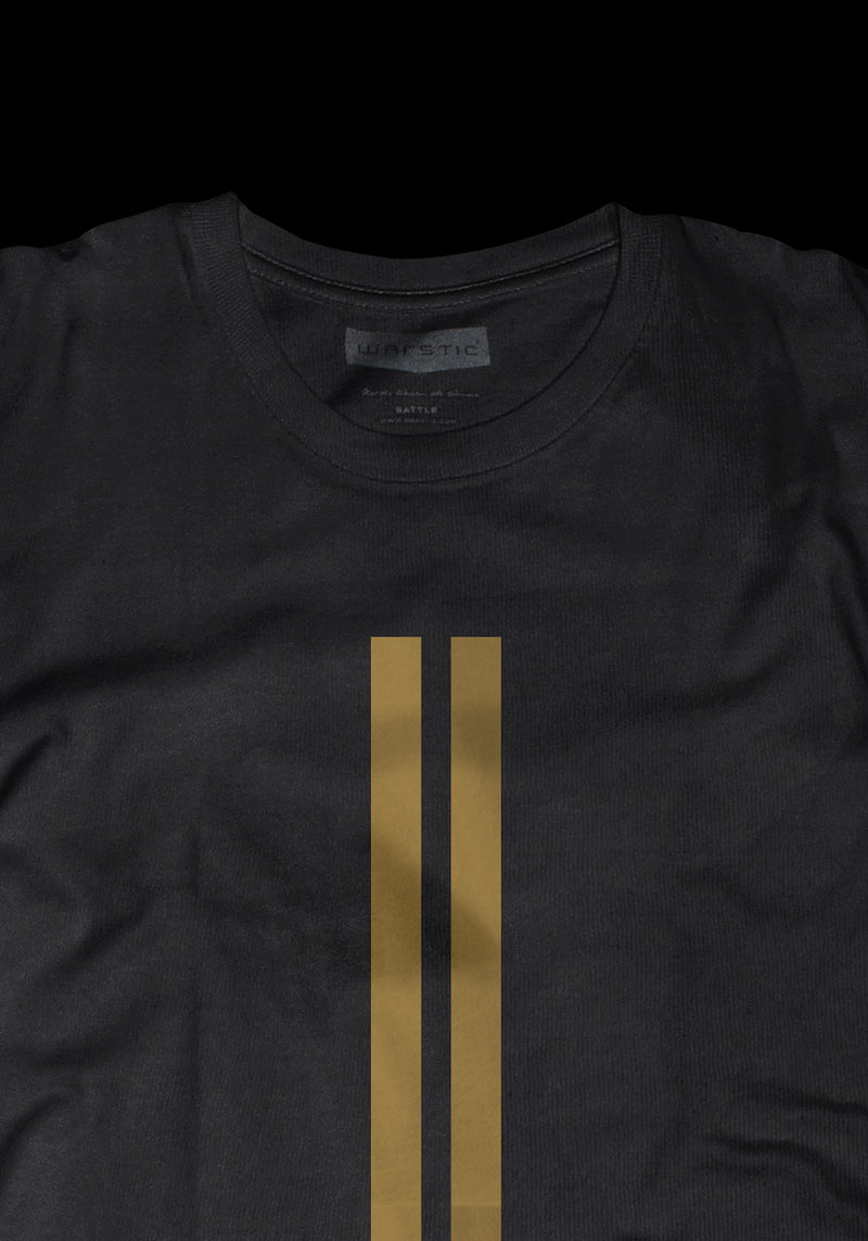 WARSTRIPES TEE (BLACK), [prouduct_type], [Warstic]