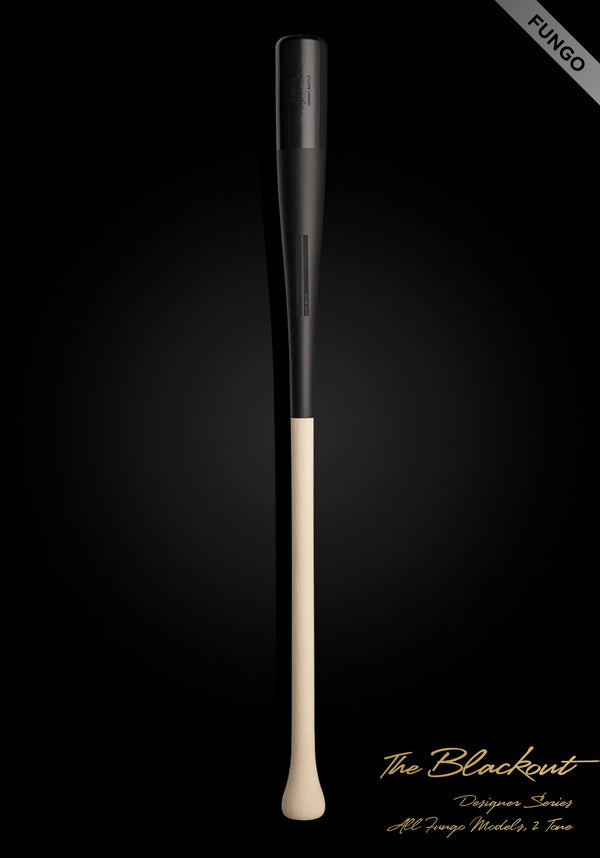 The Blackout (Fungo) Wood Bat, [prouduct_type], [Warstic]