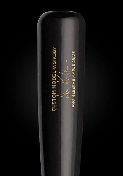 Ian Kinsler WSIK58Y Stocked Maple Pro Signature Wood Bat, [prouduct_type], [Warstic]