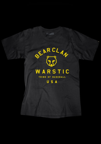 Team Warstic Bear Clan Tee (Black), [prouduct_type], [Warstic]