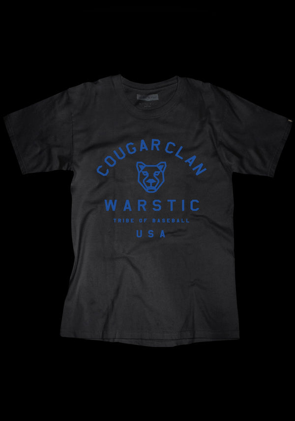 TEAM WARSTIC COUGAR CLAN TEE (BLACK), [prouduct_type], [Warstic]
