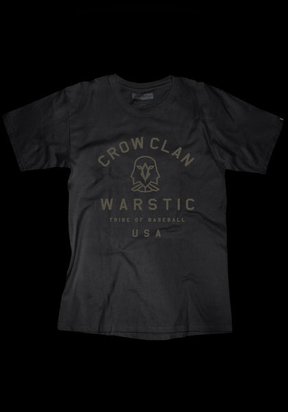 Team Warstic Crow Clan Tee (Black), [prouduct_type], [Warstic]