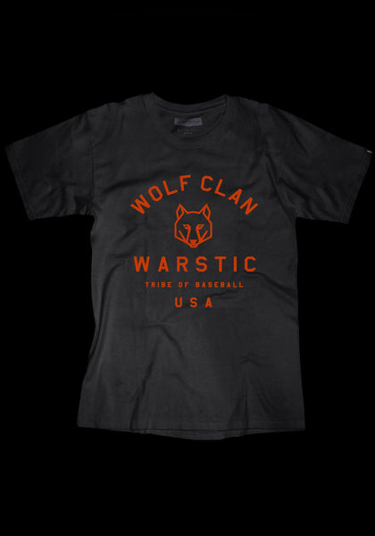 Team Warstic Wolf Clan Tee (Black), [prouduct_type], [Warstic]