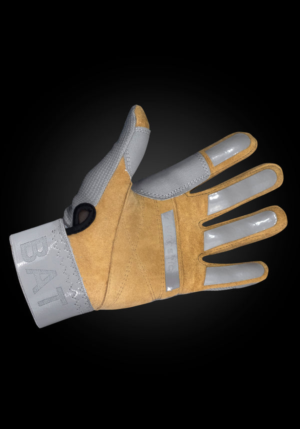 "WORKMAN2 ADULT & YOUTH BATTING GLOVES ""GRAYOUT"", [prouduct_type], [Warstic]"
