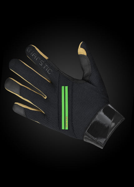 Workman2 Batting Gloves Black/ Grass, [prouduct_type], [Warstic]