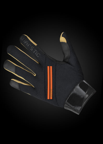 Workman2 Batting Gloves Black/ Fire, [prouduct_type], [Warstic]