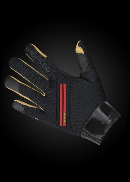 Workman2 Batting Gloves Black/ Blood, [prouduct_type], [Warstic]