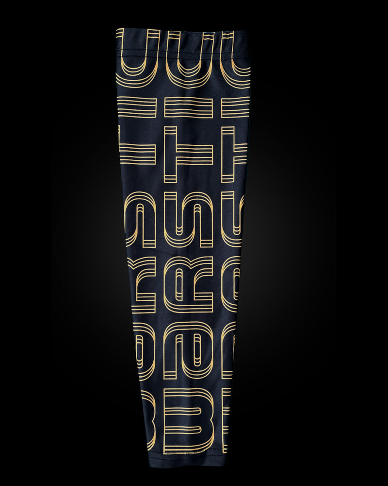 ARM SLEEVE - WARSTIC BLACK & GOLD