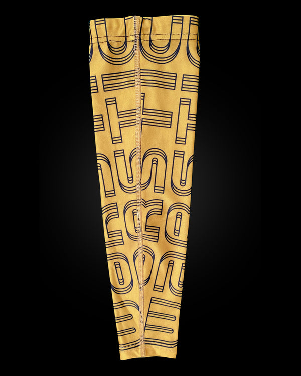 ARM SLEEVE - WARSTIC GOLD & BLACK