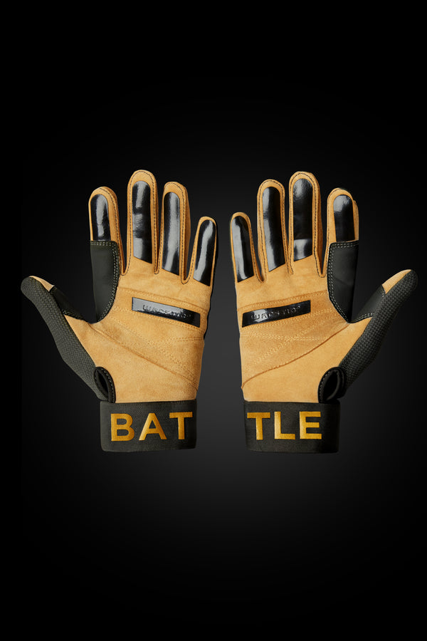 "WORKMAN3 ADULT & YOUTH BATTING GLOVES ""OFFICIAL WARSTRIPE NATION"""