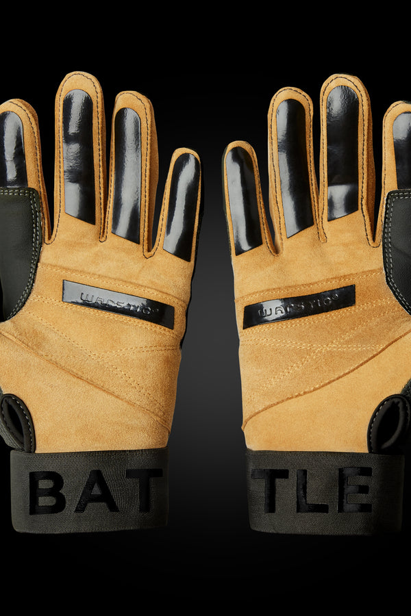 "WORKMAN3 ADULT & YOUTH BATTING GLOVES ""BLACKOUT"""