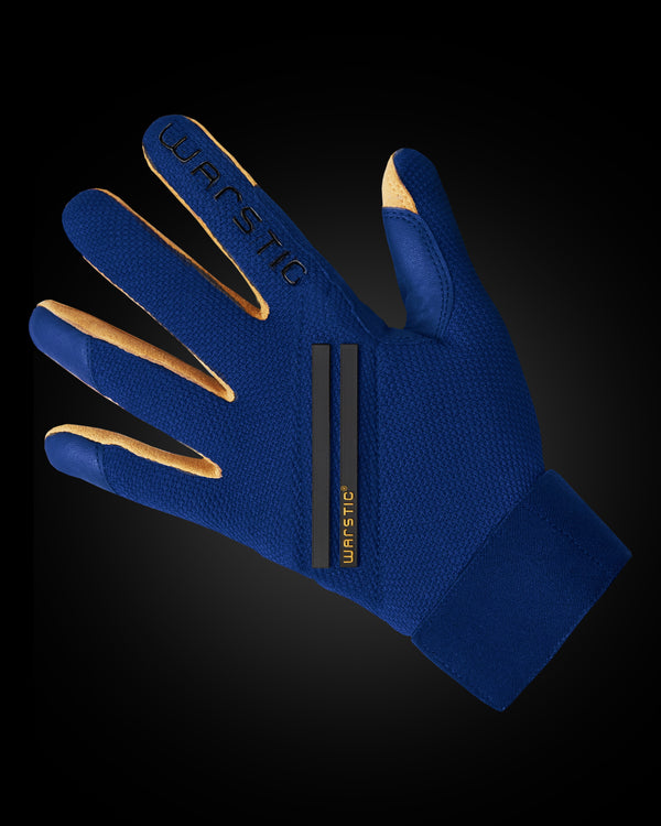 "WORKMAN3 ADULT & YOUTH BATTING GLOVES ""BLUE/BLACK"""