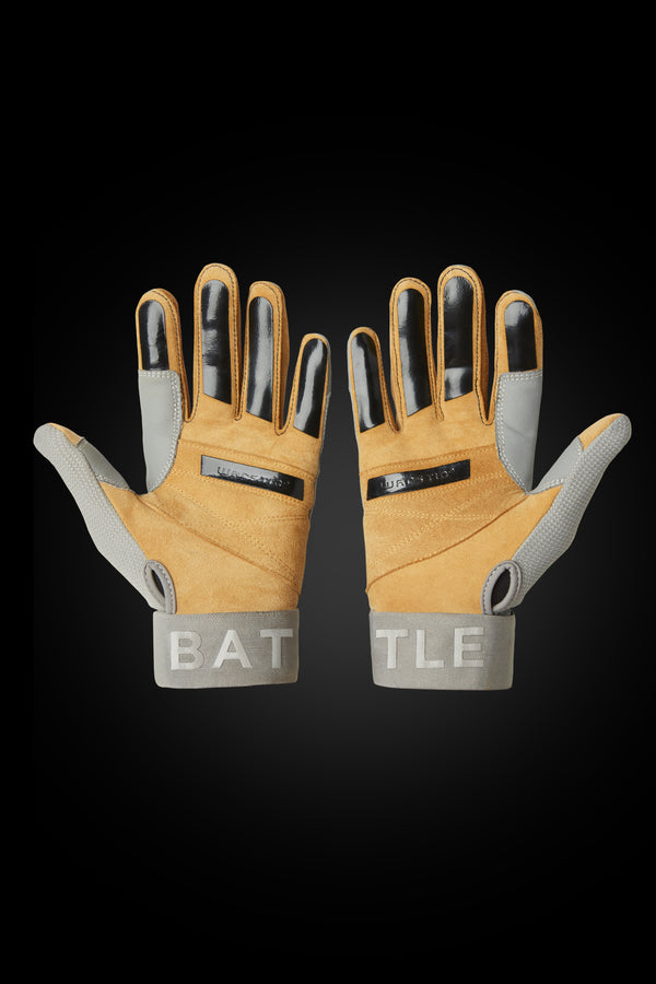 "WORKMAN3 ADULT & YOUTH BATTING GLOVES ""GRAYOUT"""