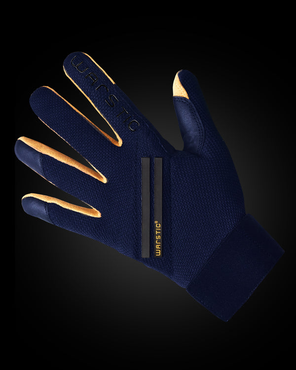 "WORKMAN3 ADULT & YOUTH BATTING GLOVES ""NAVY"""