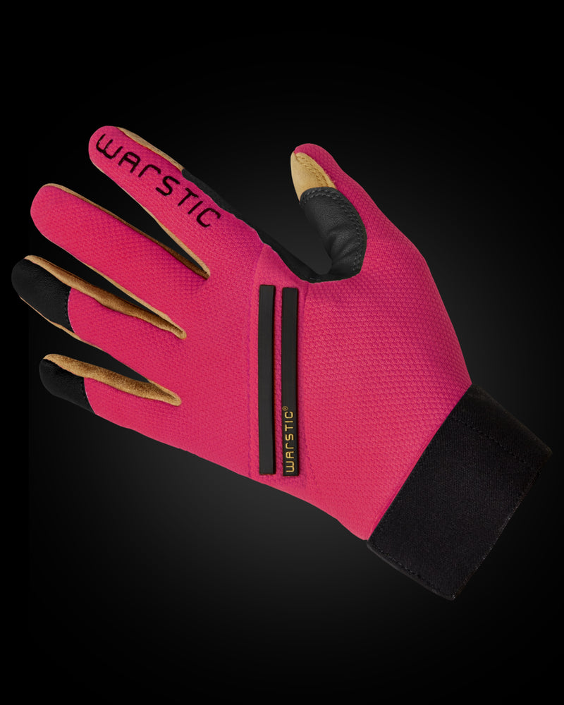 "WORKMAN3 ADULT & YOUTH BATTING GLOVES ""BATTLE PINK"""