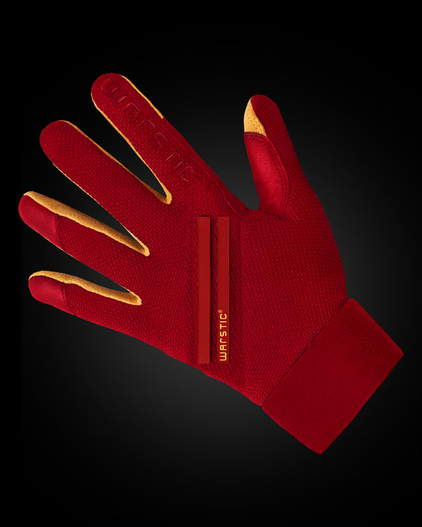 "WORKMAN3 ADULT & YOUTH BATTING GLOVES ""REDOUT"""