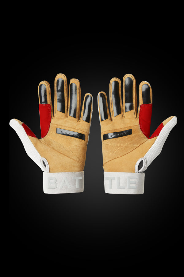 "WORKMAN3 ADULT & YOUTH BATTING GLOVES ""USA"""