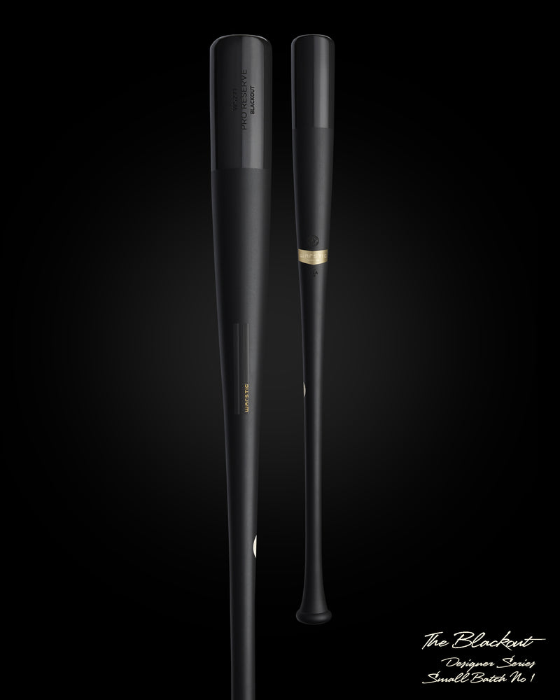 THE BLACKOUT SMALL BATCH WOOD BAT