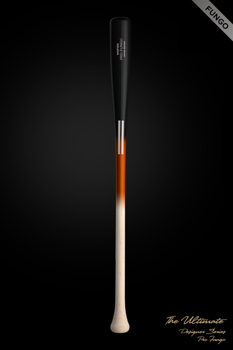 The Ultimate Team Fungo (Fire) Wood Bat, [prouduct_type], [Warstic]