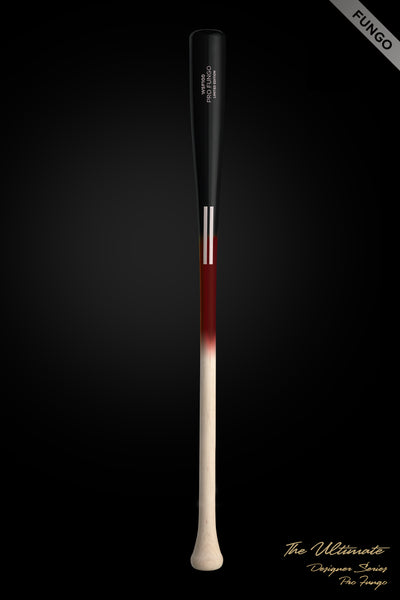 The Ultimate Team Fungo (Wine) Wood Bat, [prouduct_type], [Warstic]