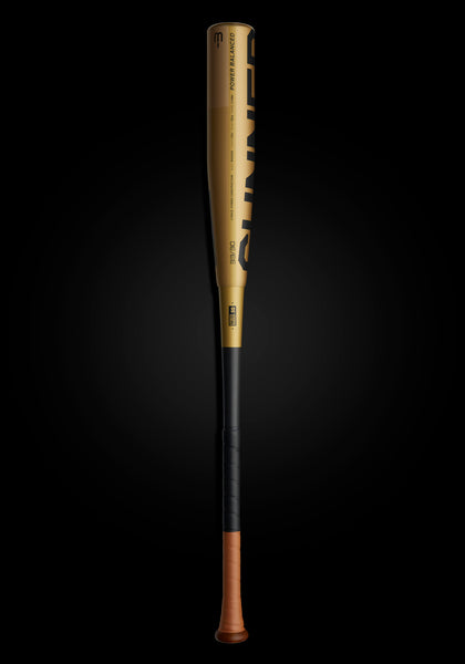The GUNNER Ltd. Edition Gold BBCOR Metal Baseball Bat, [prouduct_type], [Warstic]