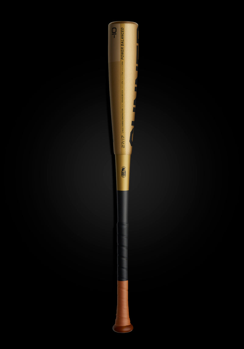 THE GUNNER LTD. EDITION GOLD USSSA METAL BASEBALL BAT, [prouduct_type], [Warstic]