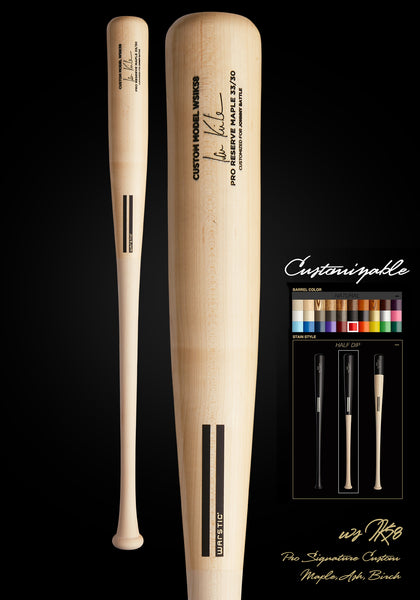 Ian Kinsler WSIK58 Customizable Pro Signature Wood Bat, [prouduct_type], [Warstic]