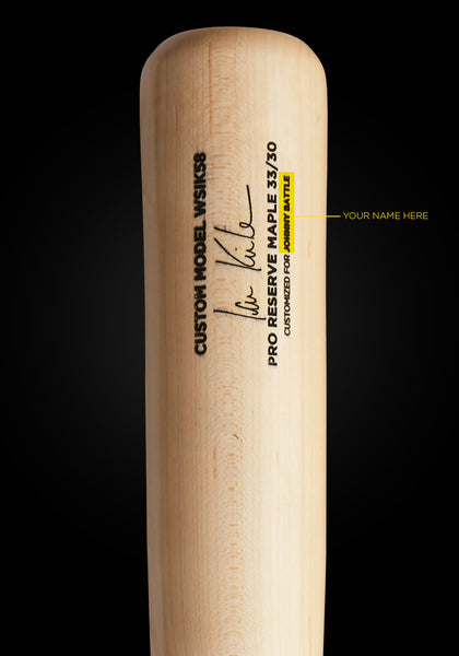 Ian Kinsler WSIK58 Customizable Pro Signature, [prouduct_type], [Warstic]