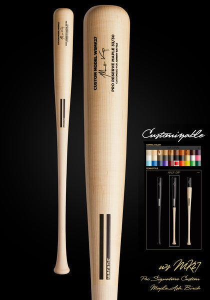 Matt Kemp WSMK27 Customizable Pro Signature Wood Bat, [prouduct_type], [Warstic]