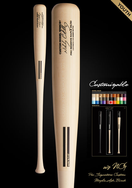 Nick Castellanos WSNC9Y YOUTH Customizable Pro Signature Wood Bat, [prouduct_type], [Warstic]