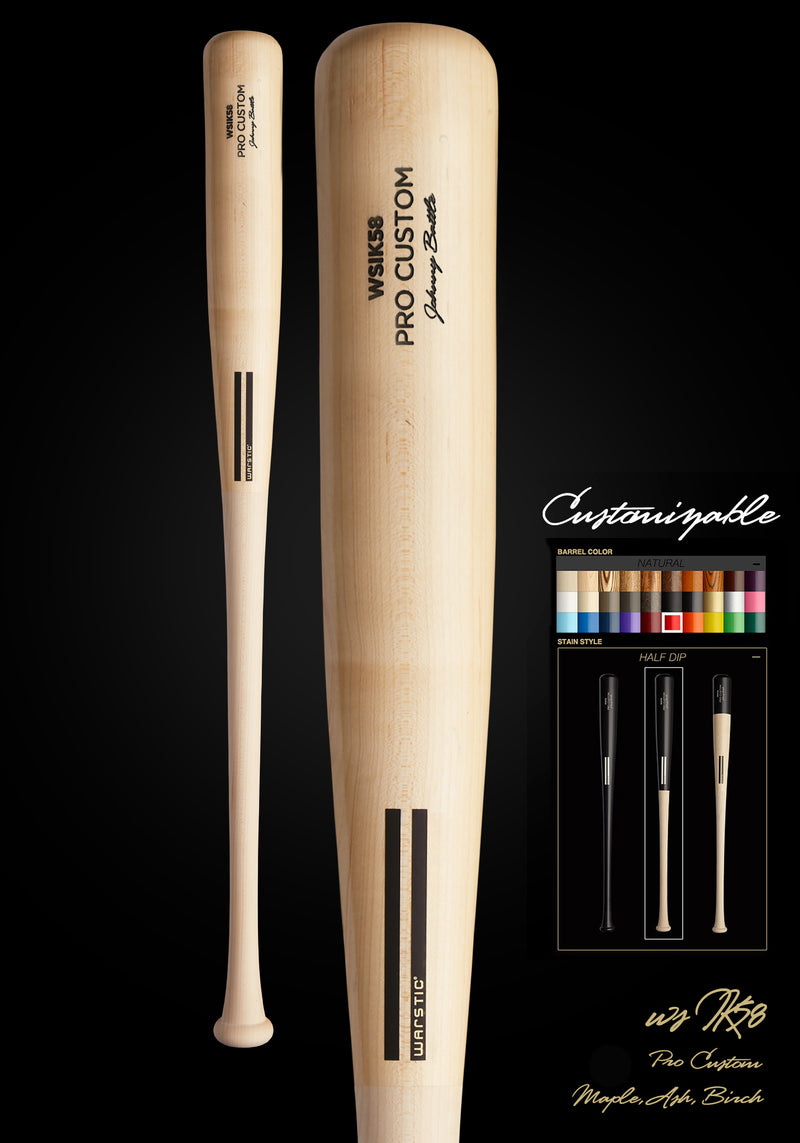 WSIK58 (IAN KINSLER MODEL) WOOD BAT, [prouduct_type], [Warstic]