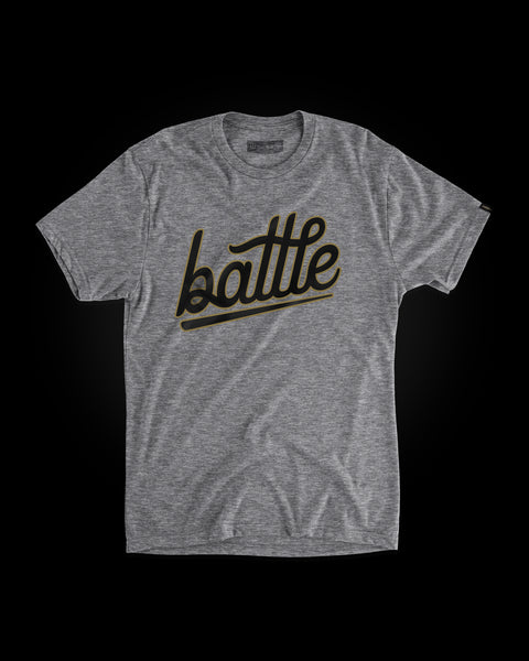Battle Tee (Gray/Black/Gold), [prouduct_type], [Warstic]