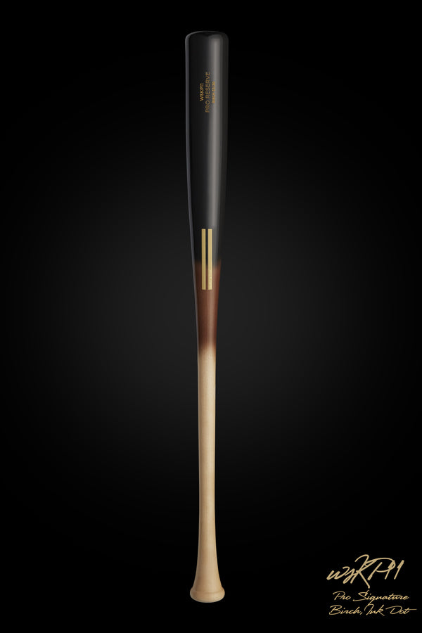 WSKP11 (KEVIN PILLAR MODEL) || Black/Tobacco Birch Wood Bat