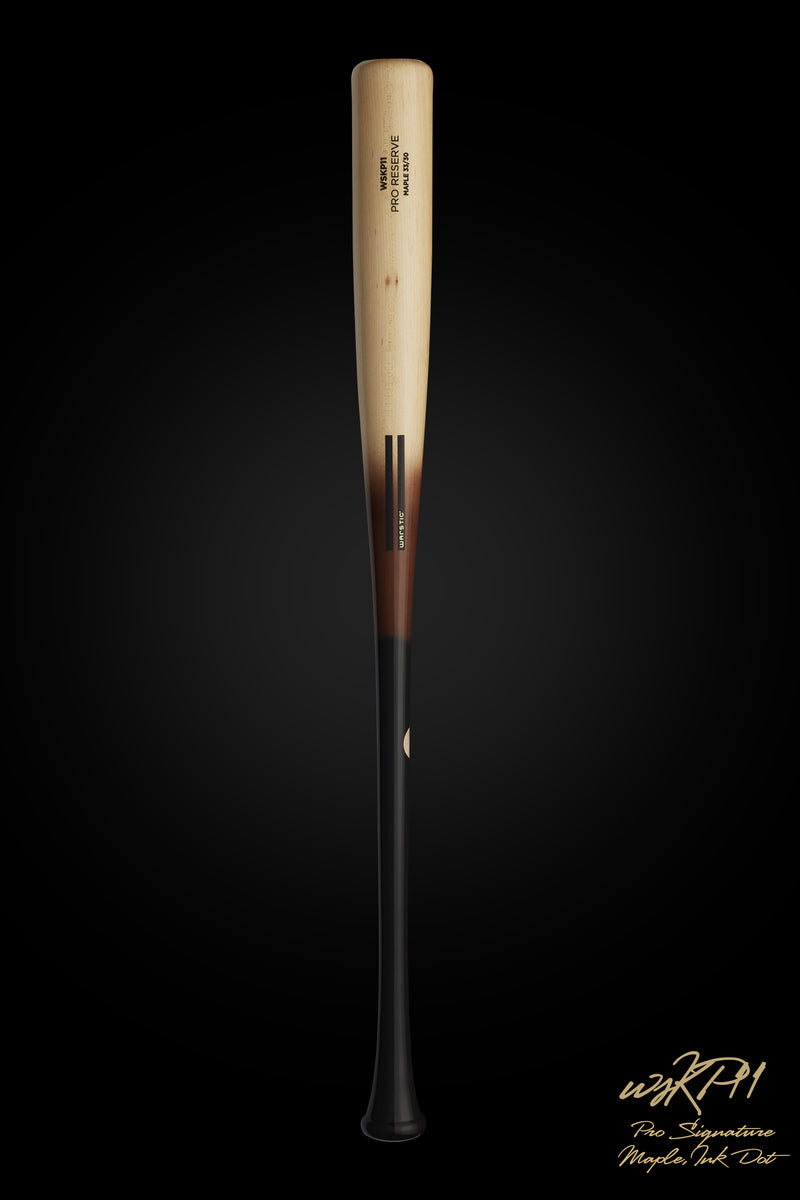 WSKP11 (KEVIN PILLAR MODEL) || Natural/Tobacco Fade Maple Wood Bat