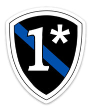 1* Thin Blue Line Sticker