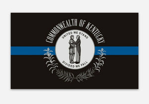 Kentucky Thin Blue Line Sticker