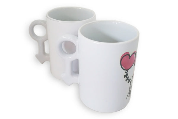 "Taza ""Love is all you need"" Género Masculino"