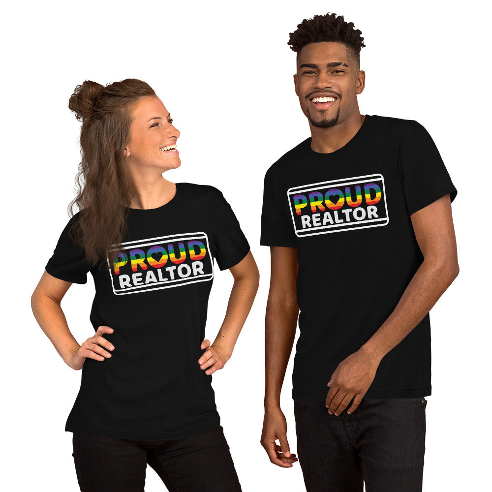 Proud Realtor  Unisex Tee Shirt - Short Sleeve