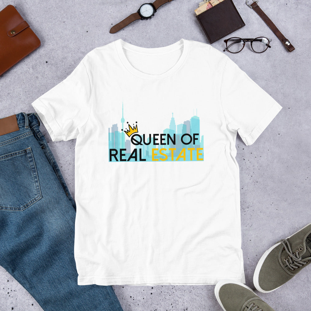 Queen of Real Estate Short-Sleeve Unisex Tee Shirt - City Edition