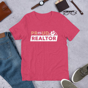 Proud Realtor Short-Sleeve Unisex Tee Shirt