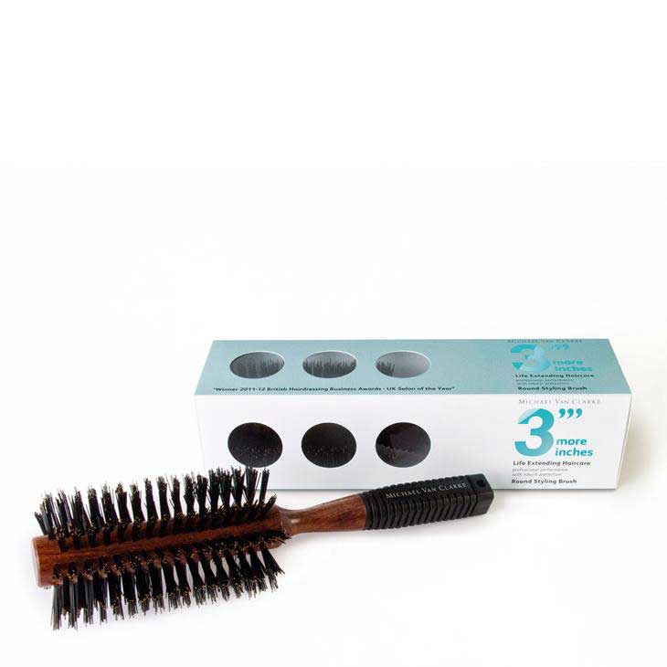 Round Styling Brush - Soft Bristle