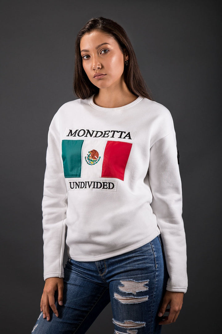 Unity Women's Modern Fit Sweater - Mexico - White